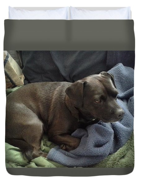 My Puppy Bella Duvet Cover