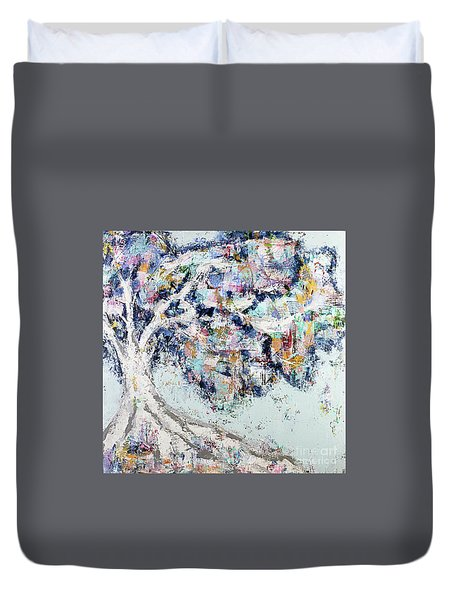 My Secret Hideout Duvet Cover by Kirsten Reed