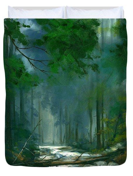My Secret Place II Duvet Cover by Michael Swanson