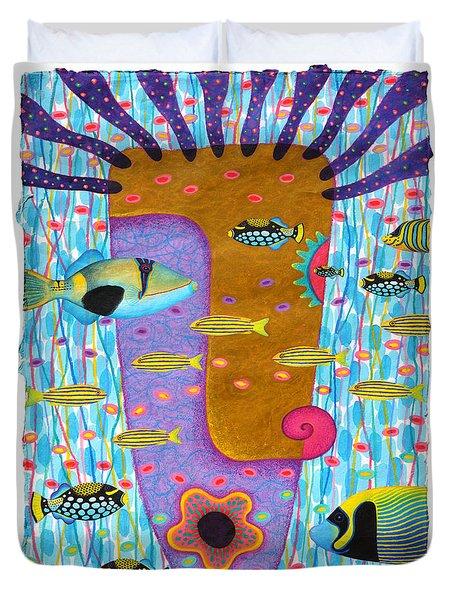 My Self  2 Duvet Cover by Opas Chotiphantawanon