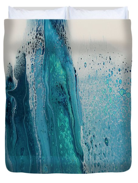 My Soul To Sea Duvet Cover