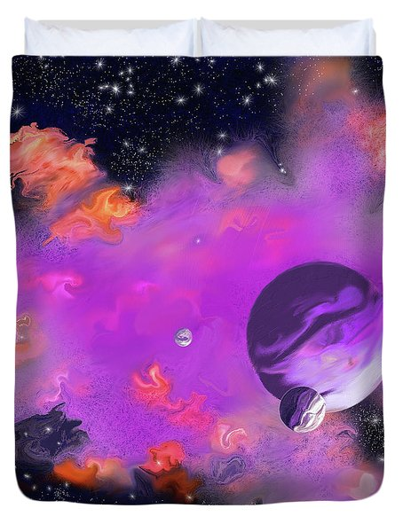 My Space Duvet Cover