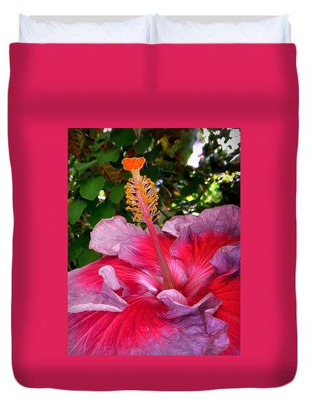 My Special Hibiscus Duvet Cover