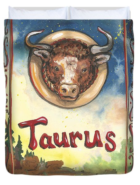 My Taurus Duvet Cover