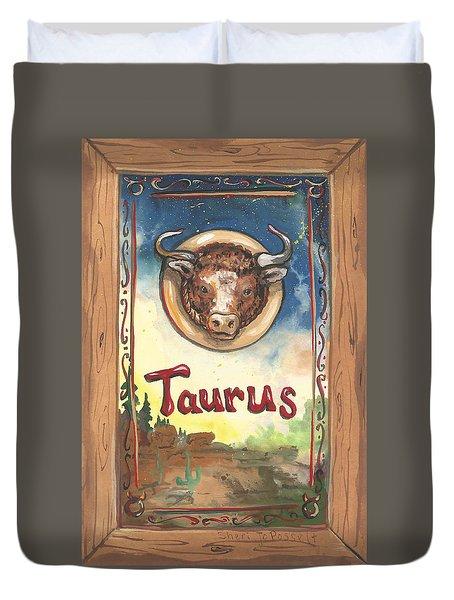 My Taurus Duvet Cover