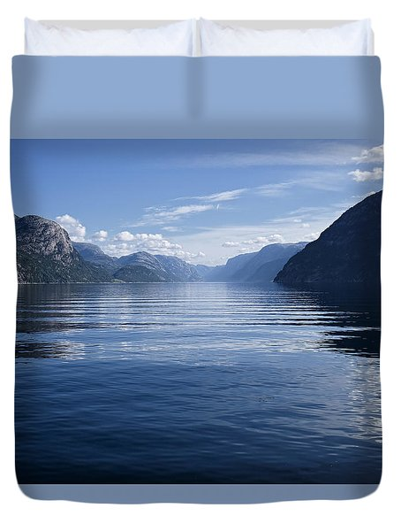 My Thoughts Keep Coming Back To You Duvet Cover