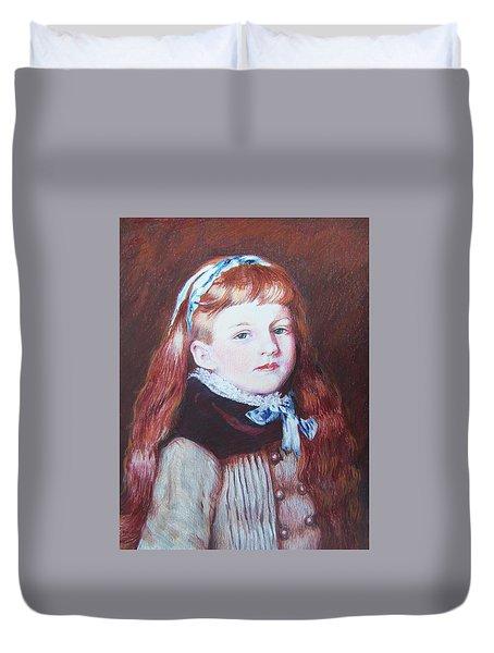 My Version Of A Renoir Duvet Cover