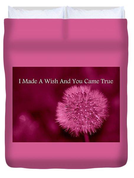 My Wish Duvet Cover