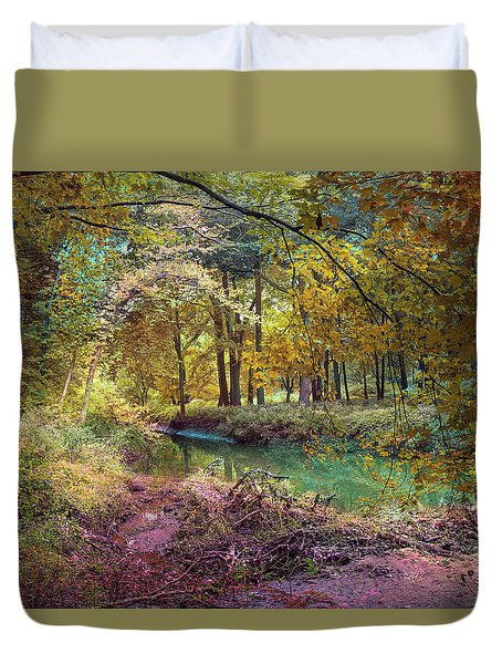My World Of Color Duvet Cover