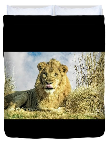 My You Look Tasty Duvet Cover