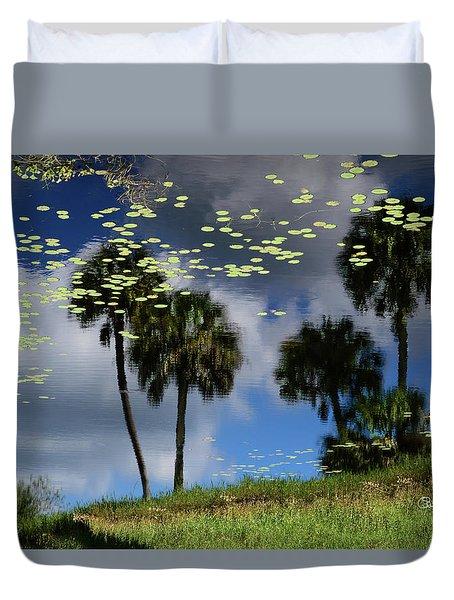 Myakka Reflections Duvet Cover