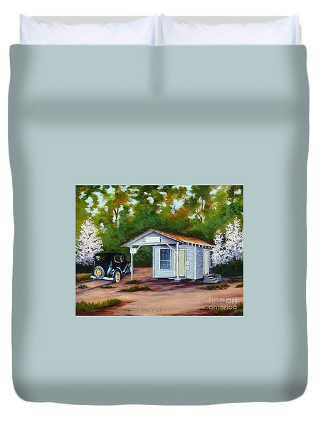 Myers Mill Post Office Duvet Cover