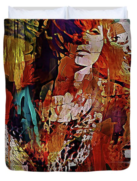 Myrrh Duvet Cover