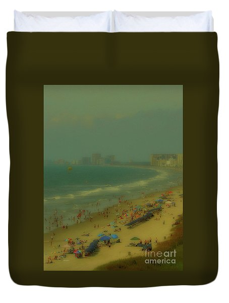 Myrtle Beach Duvet Cover