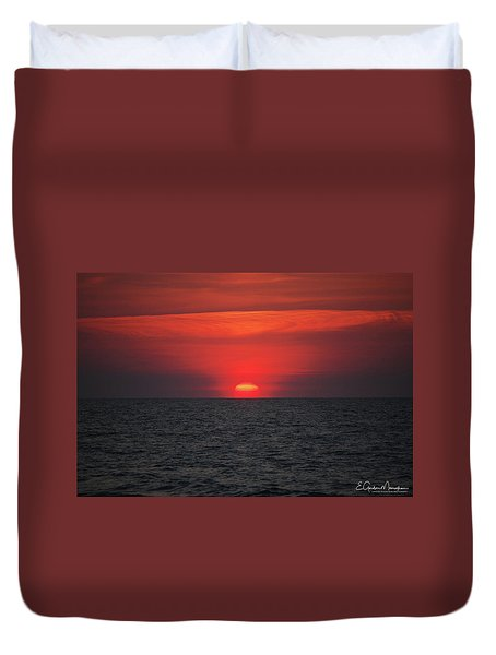 Myrtle Beach Sunrise 1 Duvet Cover