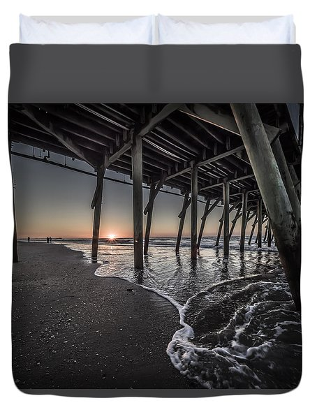 Myrtle Beach Sunrise I Duvet Cover