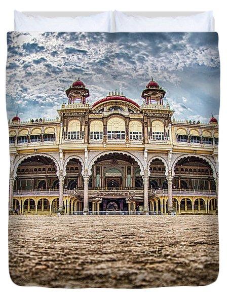 Mysore Palace Duvet Cover