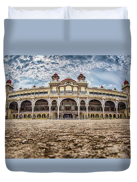 Mysore Palace Duvet Cover