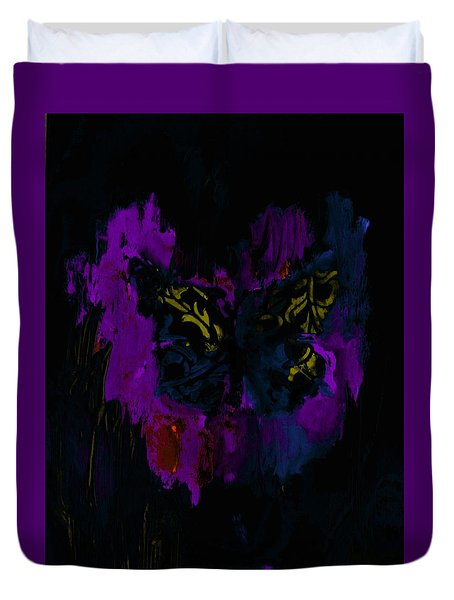 Mysterious By Lisa Kaiser Duvet Cover