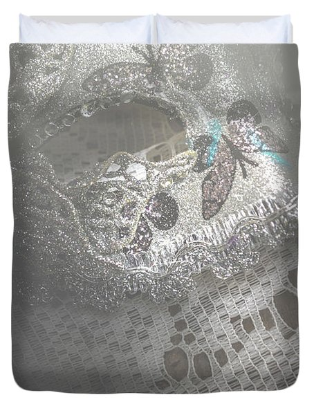Mysterious Pantomime Play  Duvet Cover