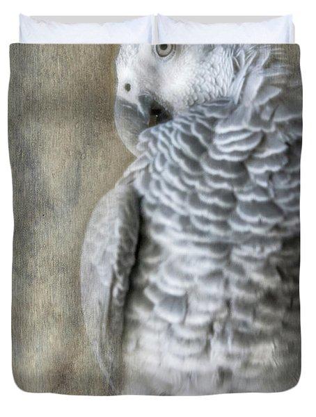 Mysterious Parrot Duvet Cover