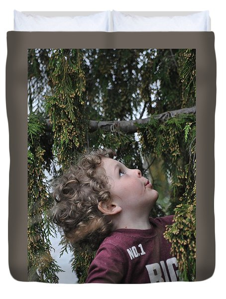 Mysterious Tree Duvet Cover