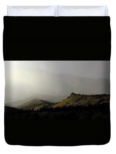 Mysteriously Duvet Cover by Silke Brubaker