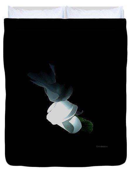 Mystery Flower Duvet Cover