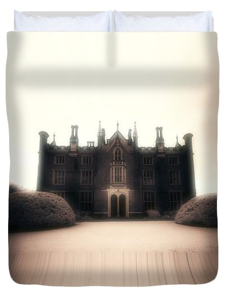 Mystery Duvet Cover by Keith Elliott