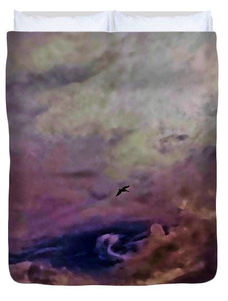 Mystery Sky Duvet Cover