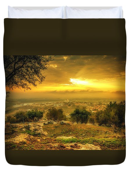 Mystery Sunrise Duvet Cover