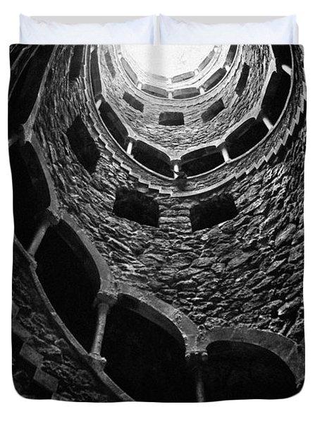 Mystery Tower Duvet Cover by Jose Elias - Sofia Pereira