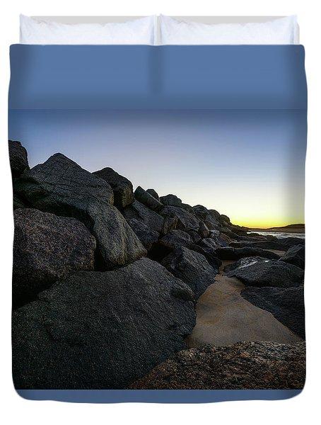 Mystic Beach Duvet Cover