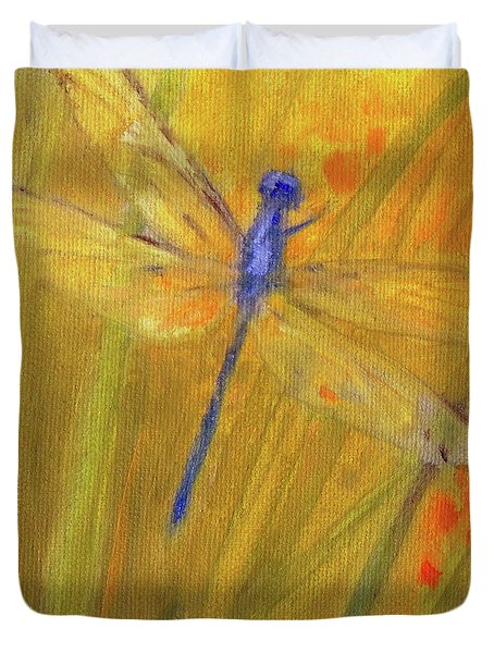 Mystic Dragonfly Duvet Cover
