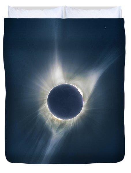 Mystic Eclipse  Duvet Cover