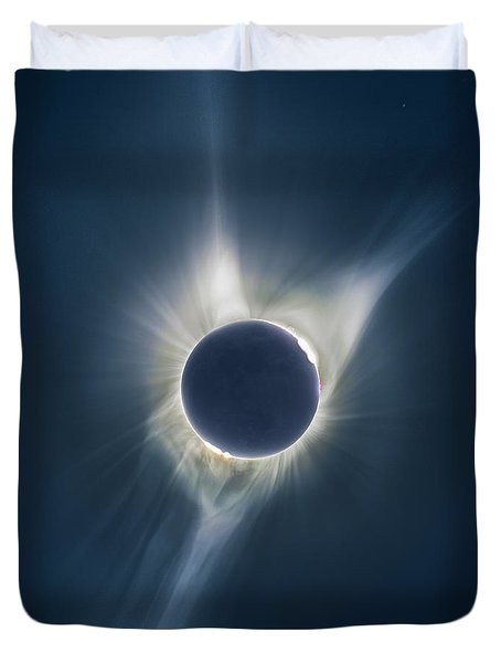 Mystic Eclipse  Duvet Cover