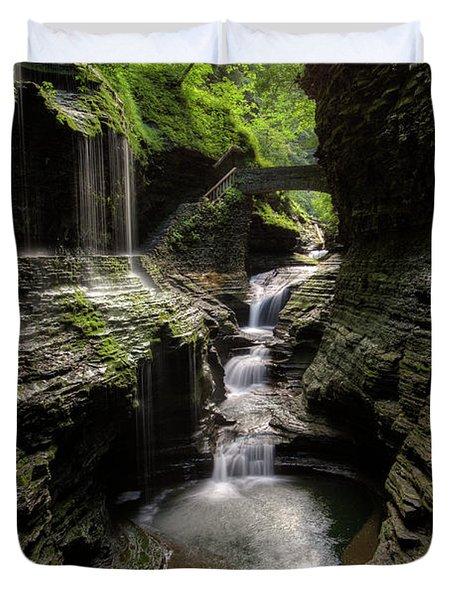 Mystic Falls Duvet Cover