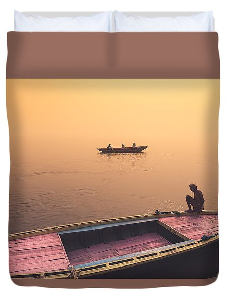 Mystic Ganges Duvet Cover