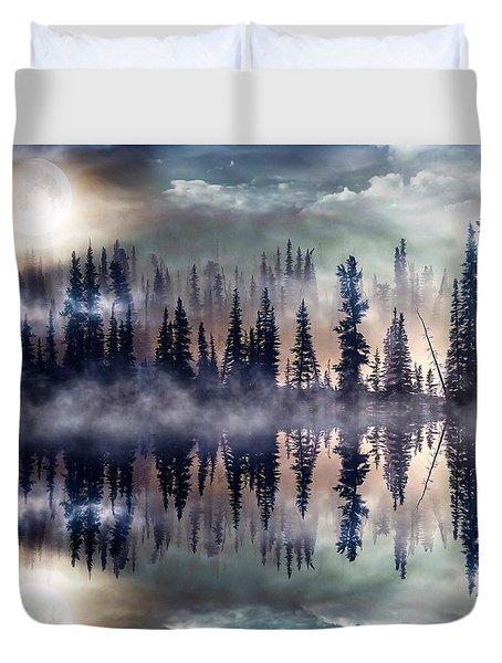 Mystic Lake Duvet Cover