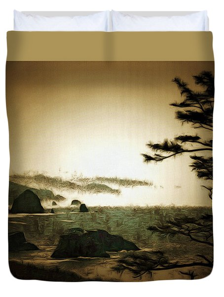 Mystic Landscapes Duvet Cover