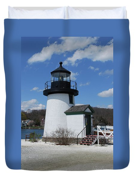 Mystic Lighthouse Duvet Cover