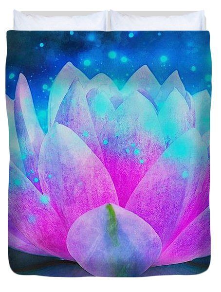 Mystic Lotus Duvet Cover