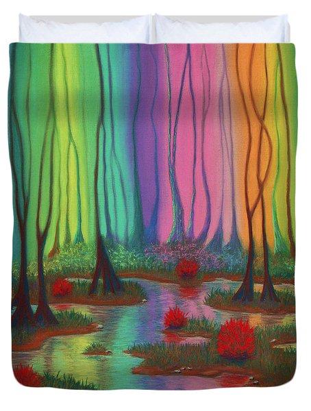 Mystic Marsh 01 Panel A Duvet Cover