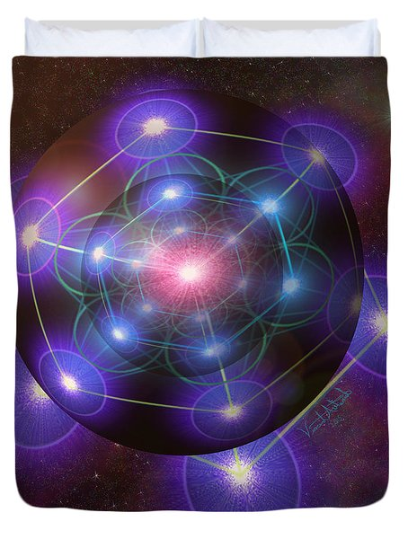Mystical Metatron Duvet Cover