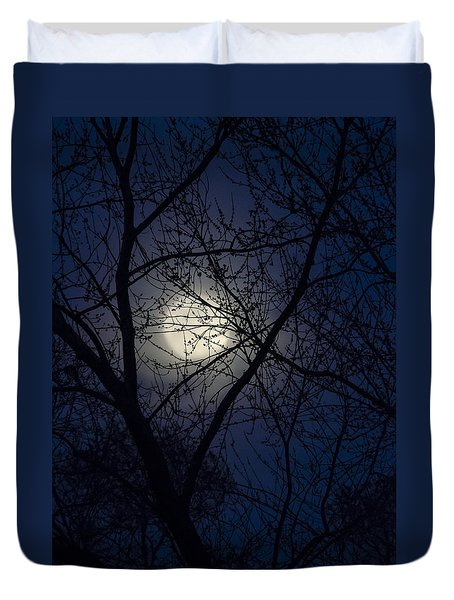 Mystic Moon Duvet Cover