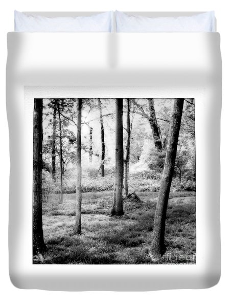 Duvet Cover featuring the photograph Mystic Peace by Steven Macanka