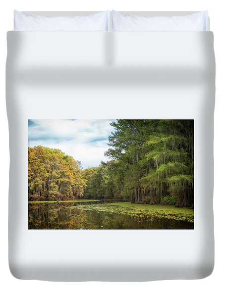 Mystic River Duvet Cover