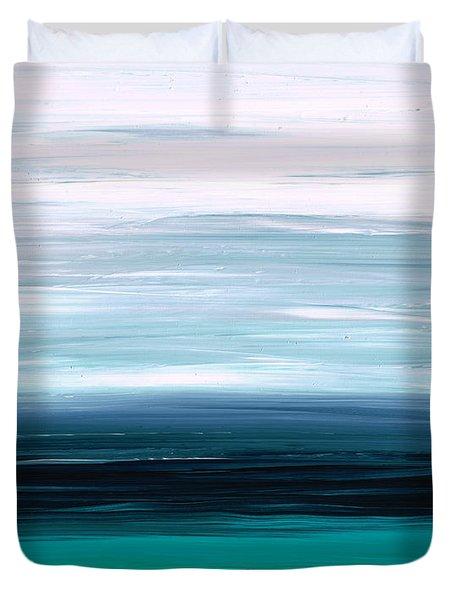 Mystic Shore Duvet Cover by Sharon Cummings
