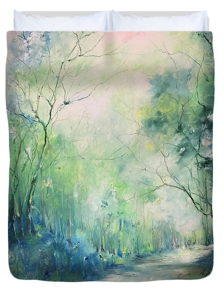 Mystic Trail Duvet Cover