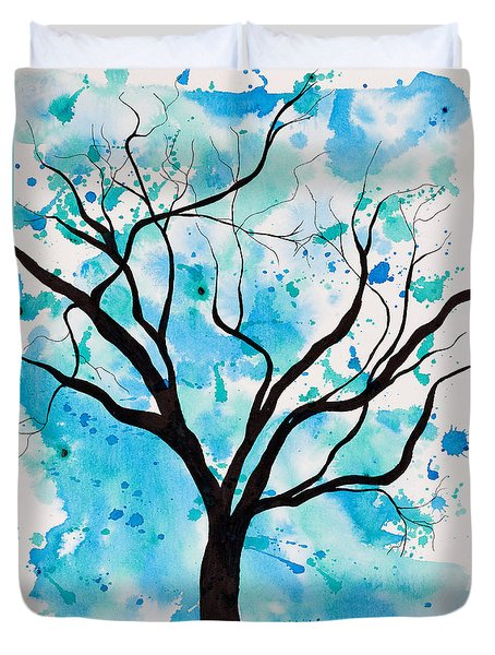 Mystic Tree Duvet Cover